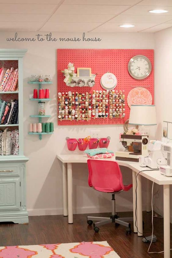 Picture Of ideas to organize your craft room in the best way  12