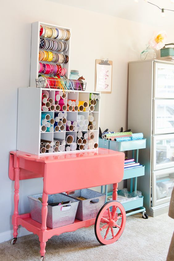 Picture Of ideas to organize your craft room in the best way  35