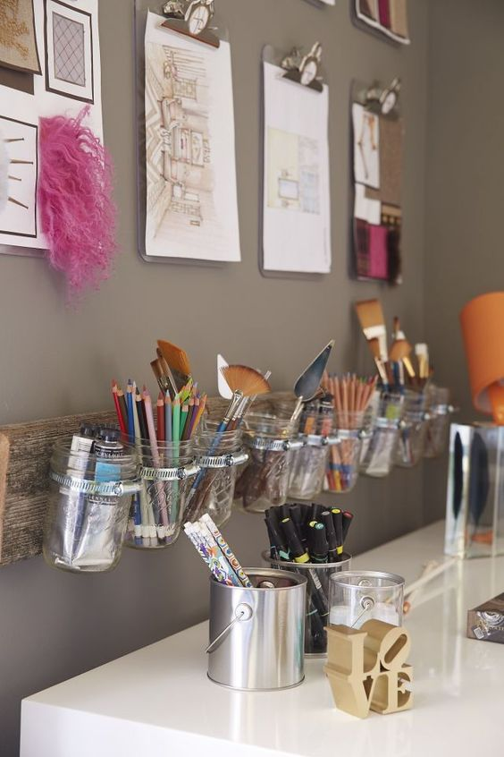 Picture Of ideas to organize your craft room in the best way  36