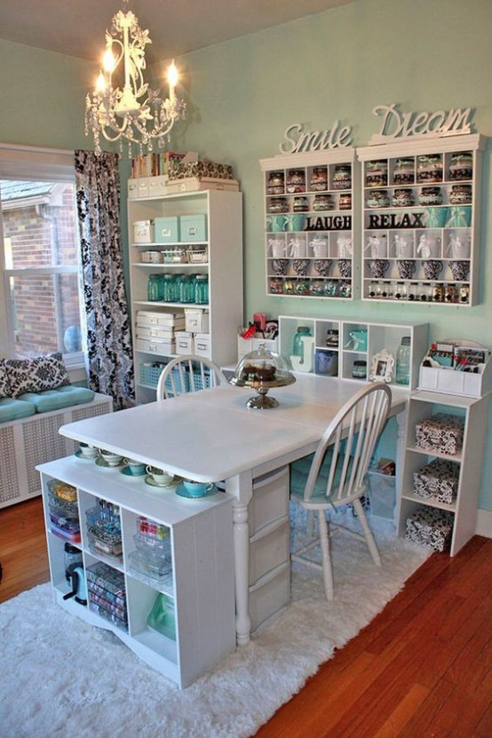 40 ideas to organize your craft room in the best way - Best way to organize bedroom furniture ...