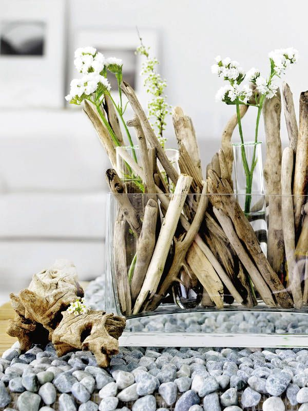 Ideas to use driftwood in home décor digsdigs