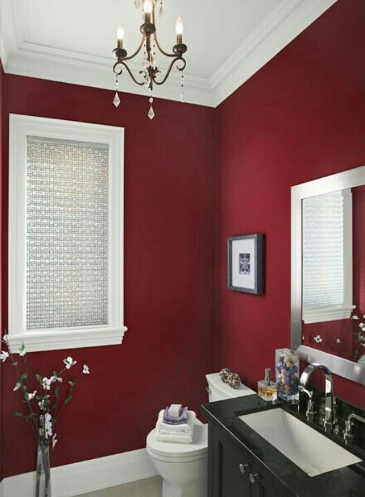 Ideal Ideas To Use Marsala For Bathroom Decor