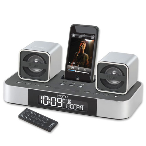 7 iPhone Docks with Digital Alarm