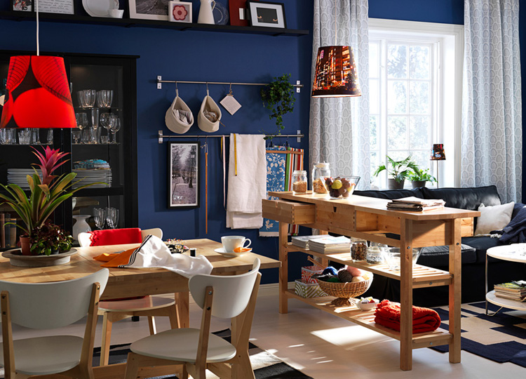 Ikea 2010 dining room and kitchen designs ideas and for Kitchen dining room ideas