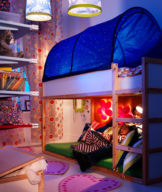 Ikea 2010 teen and kids room design ideas digsdigs - Ikea bunk bed room ideas ...