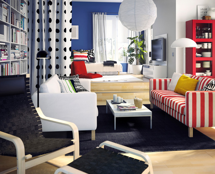 ideas for rooms. IKEA Living Room Design Ideas 2010