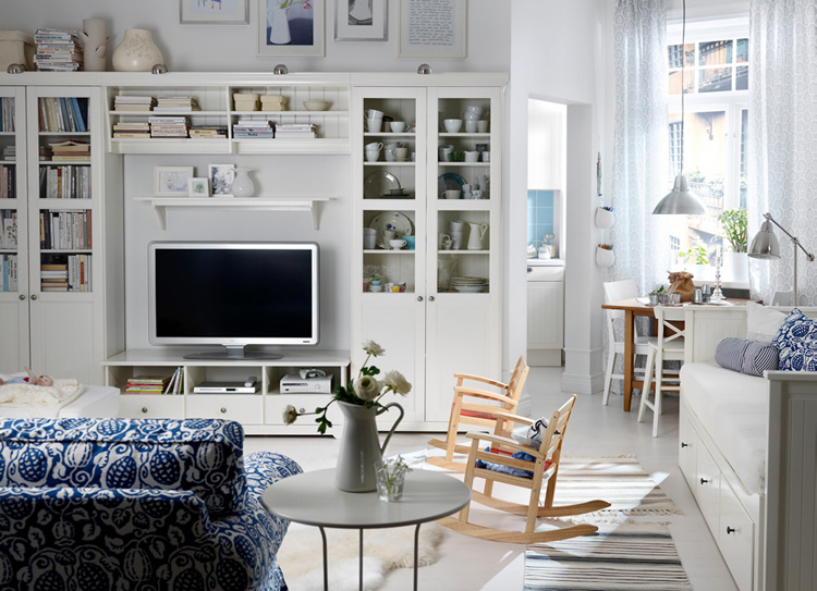 IKEA Living Room Design 750 x 543