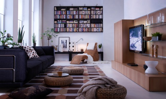 IKEA Living Room Design Ideas 2010 - DigsDigs