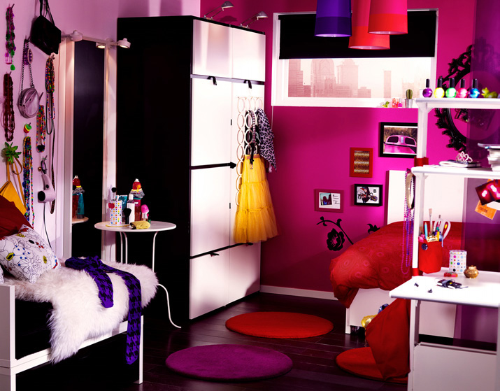 ikea 2010 teen and kids room design ideas digsdigs. Black Bedroom Furniture Sets. Home Design Ideas