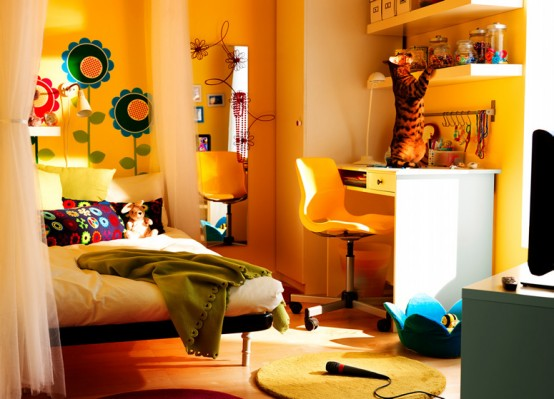 IKEA 2010 Teen and Kids Room Design Ideas