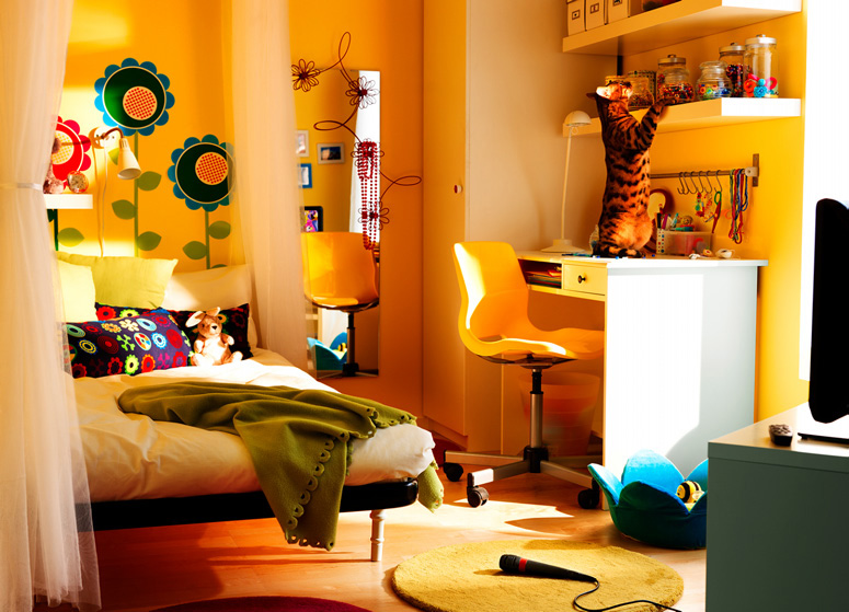 ikea 2010 teen and kids room design ideas digsdigs ForIkea Teenage Bedroom Ideas
