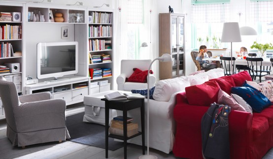 IKEA Living Room Design Ideas 2011 - DigsDigs