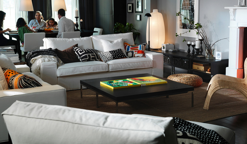 Ikea Modern Living Room Home Design Scrappy
