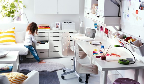 Ikea 2011 Workspace Organization Ideas