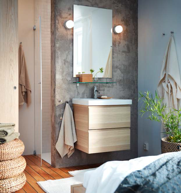 Ikea bathroom design ideas 2013 digsdigs for Salle de bain italienne ikea