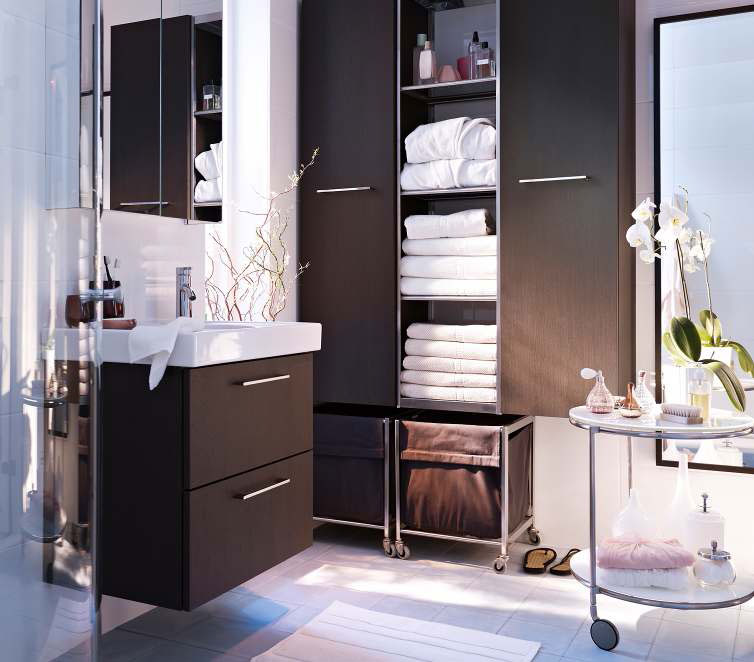 Ikea bathroom design ideas 2012 digsdigs for Meubles salle de bain ikea godmorgon