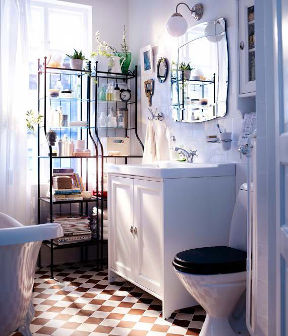 Ikea bathroom design ideas 2012 digsdigs - Salle de bain retro ...
