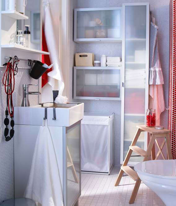 Ikea bathroom design ideas 2012 digsdigs for Small bathroom ideas ikea