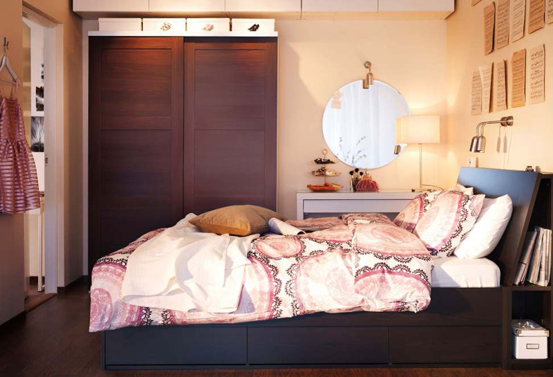 Ikea small bedroom design ideas