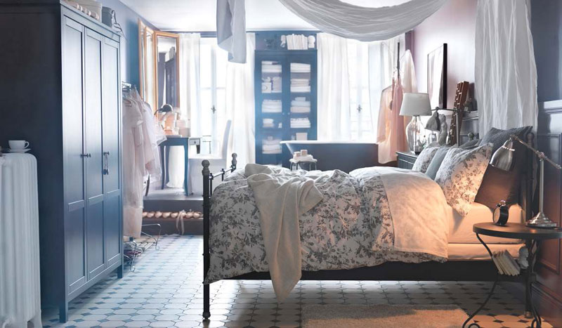 Ikea bedroom design ideas 2012 digsdigs for Cozy bedroom ideas for small rooms