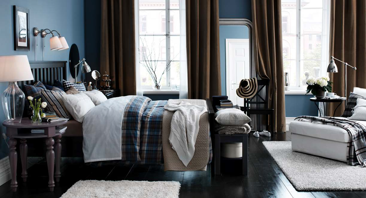 Ikea bedroom design ideas 2013 digsdigs for Ikea blue bed
