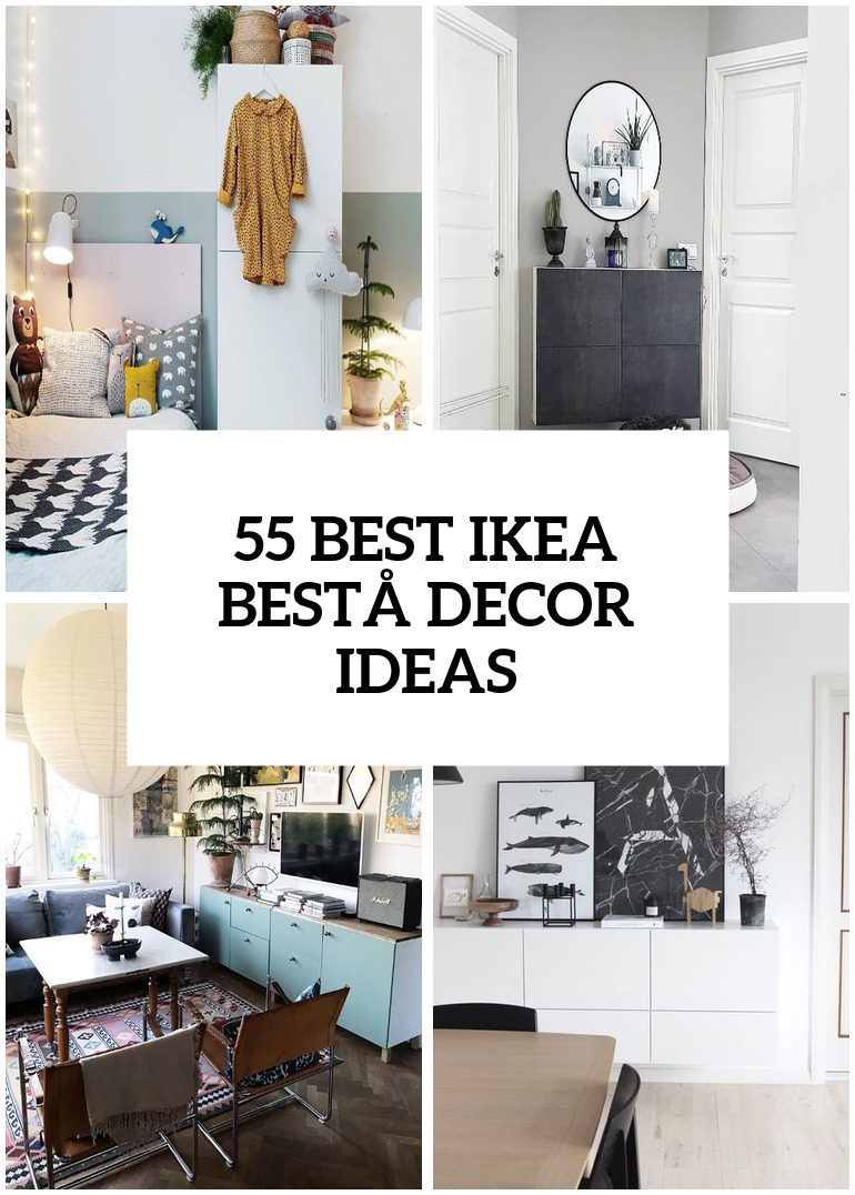 55 Ways To Use IKEA Besta Units In Home Décor