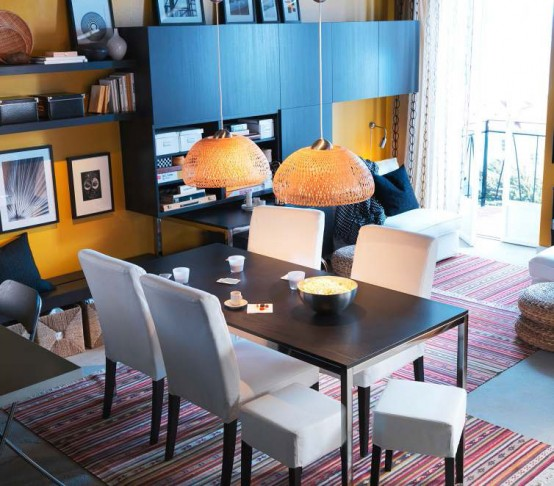 IKEA Dining Room Design Ideas 2012