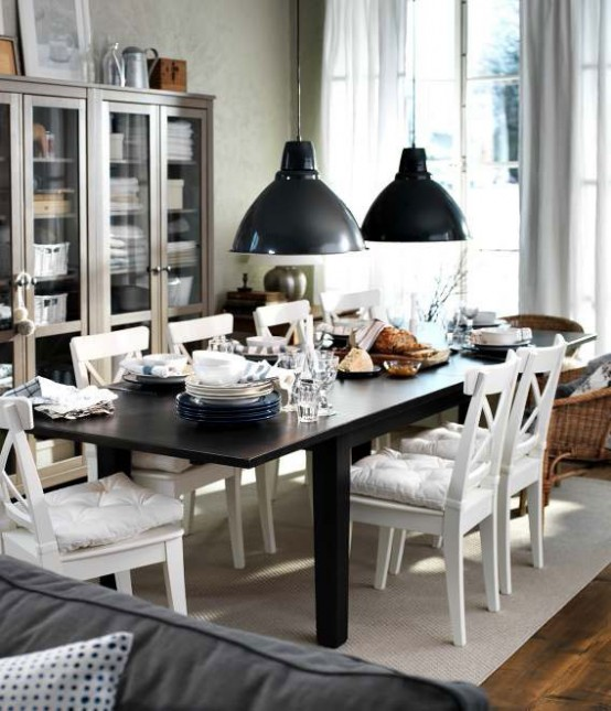 Ikea dining room design ideas 2012 digsdigs for Dining room designs 2013