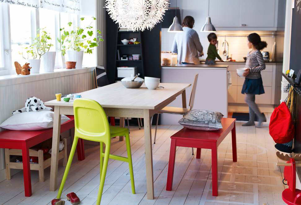 Ikea dining room design ideas 2012 digsdigs for Ideas for dining room