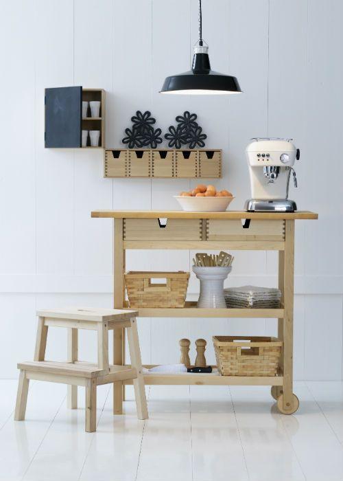 19 ikea f rh ja cart storage and display ideas for every for Tea trolley ikea