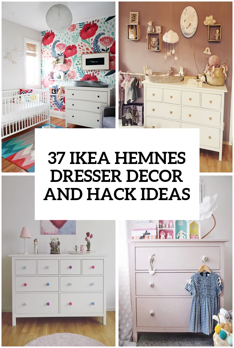 37 IKEA Hemnes Dresser Decor And Hack Ideas