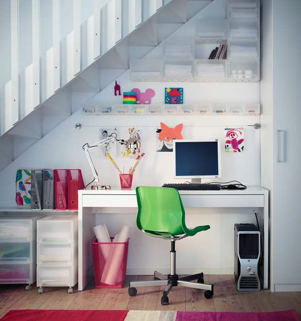 IKEA Workspace Organization Ideas 2013