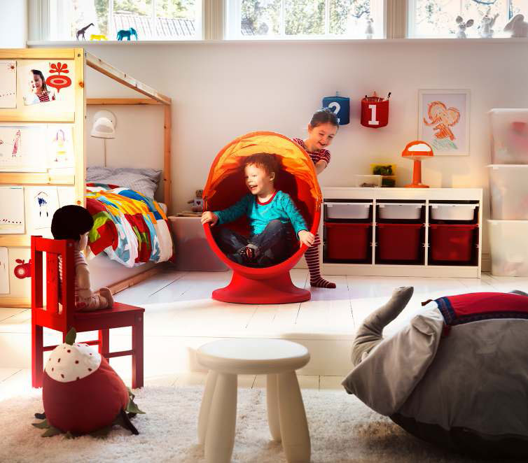 Ikea kids room design ideas 2011 digsdigs for Furniture for toddlers room