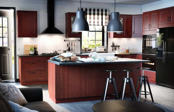 IKEA Kitchen Design Ideas 2013 - DigsDigs