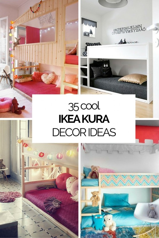 45 cool ikea kura beds ideas for your kids rooms digsdigs