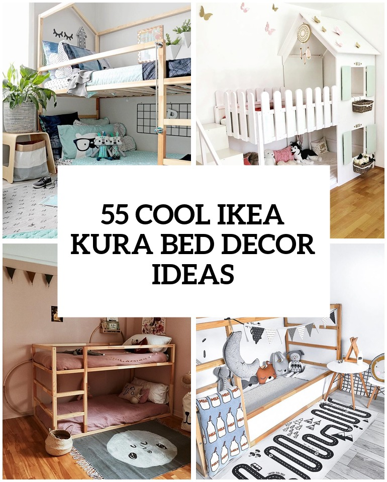 40 Cool IKEA Kura Beds Ideas For Your Kids' Rooms DigsDigs Enchanting Really Cool Bedrooms Ideas