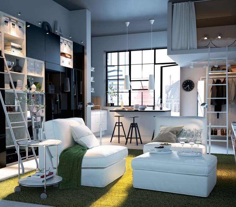 Ikea Ideas Studio Apartment ~ You can also check out IKEA living room design ideas 2011 because