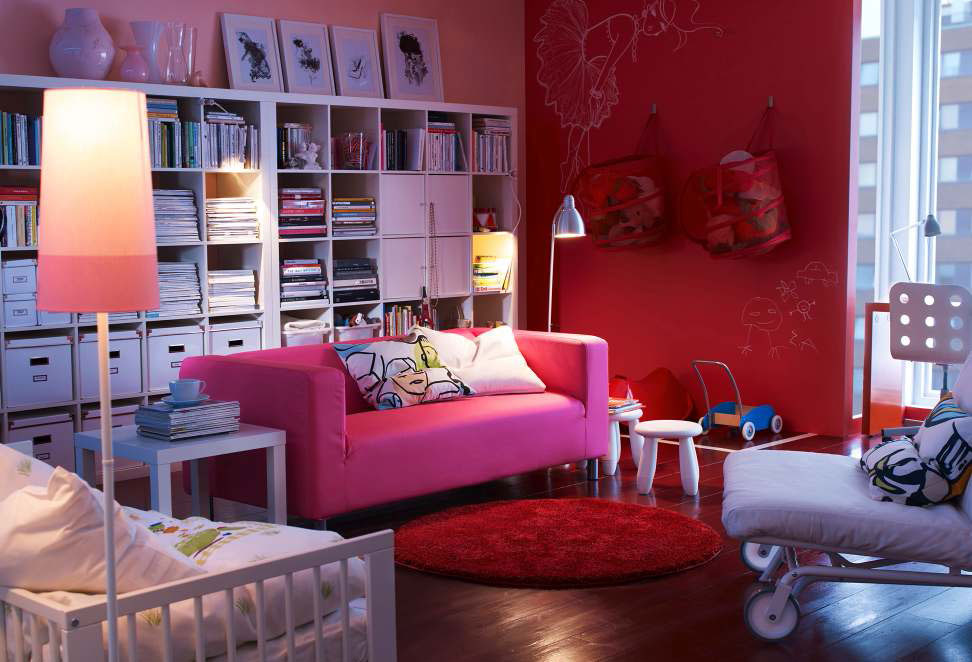 Ikea living room design ideas 2012 digsdigs for Small living room ideas ikea