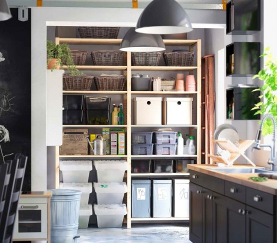 IKEA Storage Organization Ideas 2012