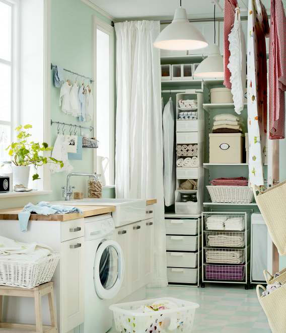 IKEA Storage Organization Ideas 2012 | DigsDigs