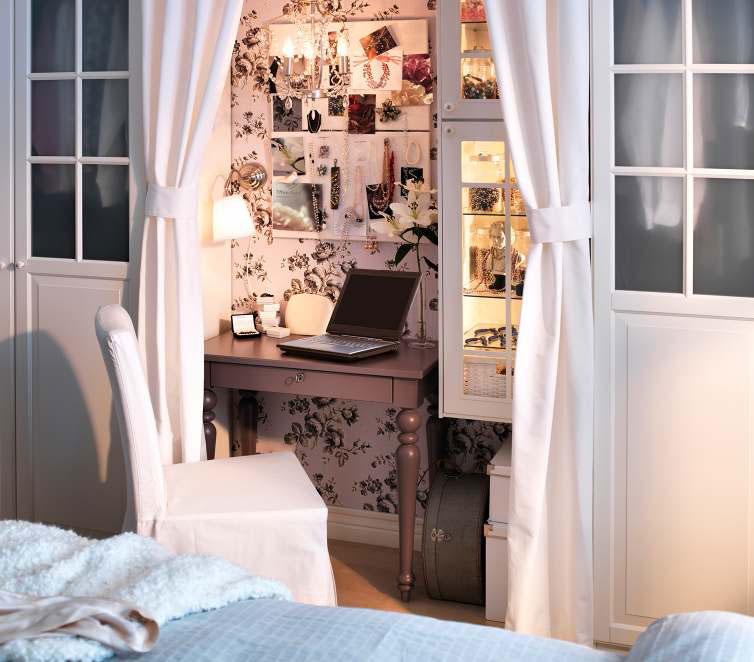 Spencer Hastings Bedroom Wallpaper Bedroom Upholstered Headboard Little Boy Bedroom Sets Bedroom Decor Neutral: IKEA Workspace Organization Ideas 2012
