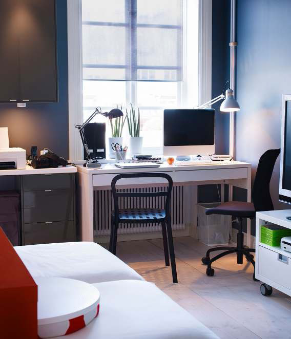 Ikea workspace organization ideas 2012 digsdigs for Ikea office ideas