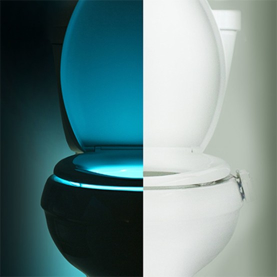 Illumibowl Toilet Seat Lights In Different Colors