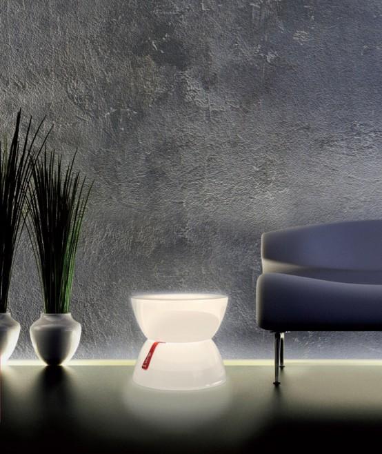 Illuminated Lounge Tables