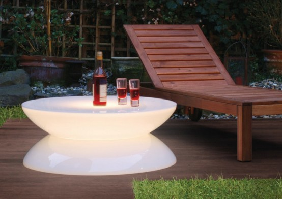 Illuminated Lounge Tables