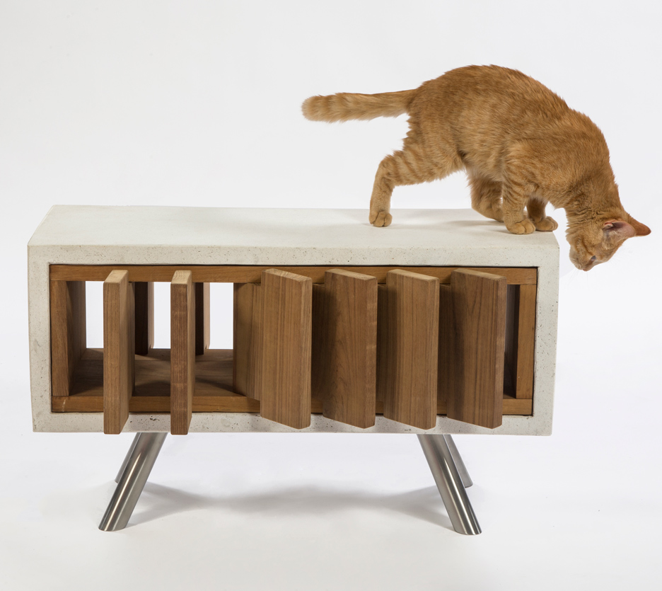 Picture Of imaginative and bold cat houses with futuristic designs  4