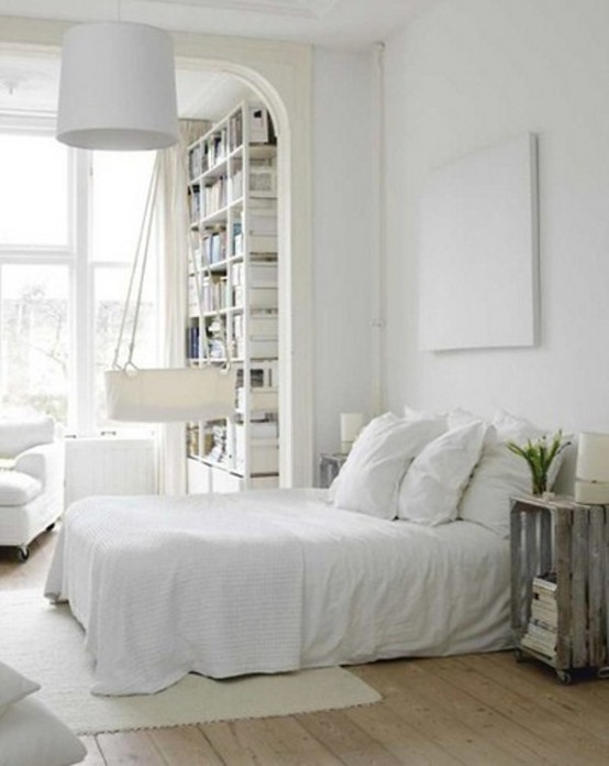 48 Impressive Bedroom Design Ideas In White DigsDigs