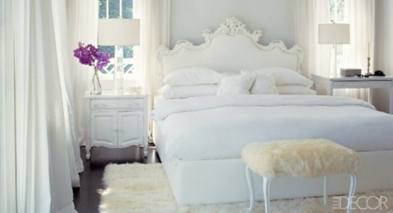 Impressive Bedrooms In White