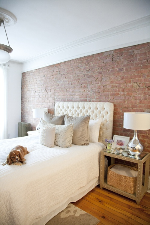 75 Impressive Bedrooms With Brick Walls Digsdigs