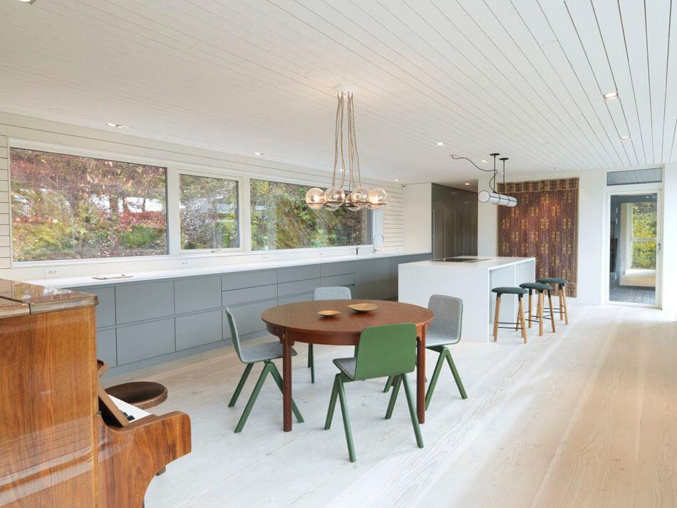 Impressive Dark Scandinavian Home With Modern Interiors